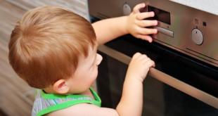 Gefahren für Babys in der Küche