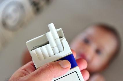 Zigaretten Vergiftung Babys und Kinder